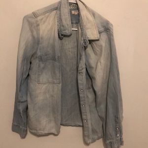 Madewell jean flannel